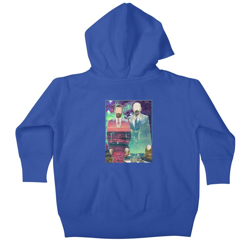 The Imperilment Department Kids Baby Zip-Up Hoody by Shadeprint's Artist Shop