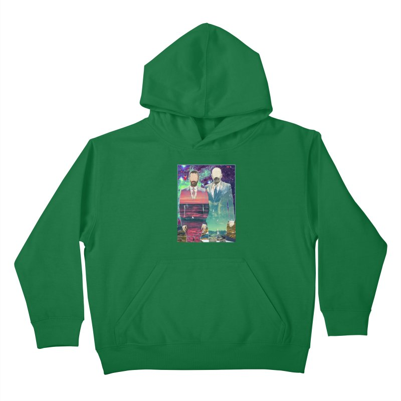 The Imperilment Department Kids Pullover Hoody by Shadeprint's Artist Shop