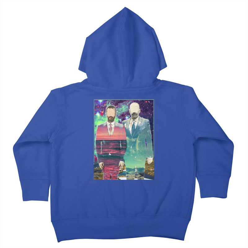 The Imperilment Department Kids Toddler Zip-Up Hoody by Shadeprint's Artist Shop