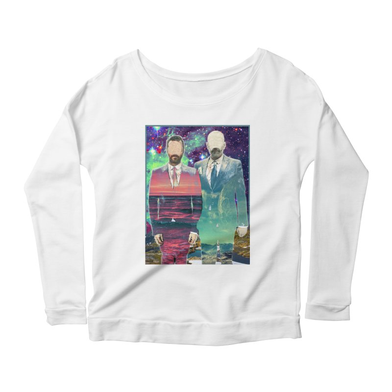 The Imperilment Department Women's Scoop Neck Longsleeve T-Shirt by Shadeprint's Artist Shop