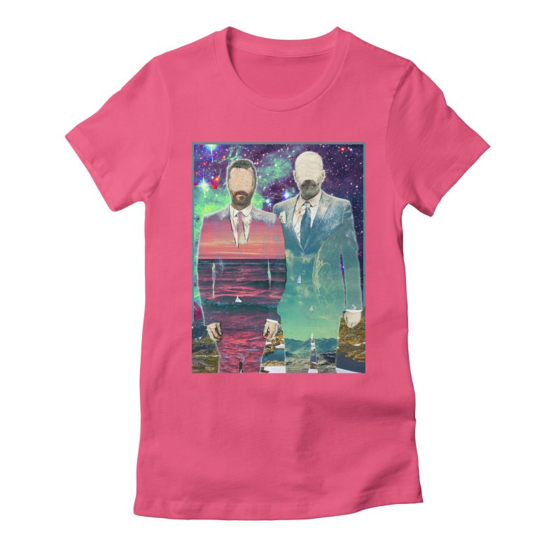 The Imperilment Department Women's Fitted T-Shirt by Shadeprint's Artist Shop
