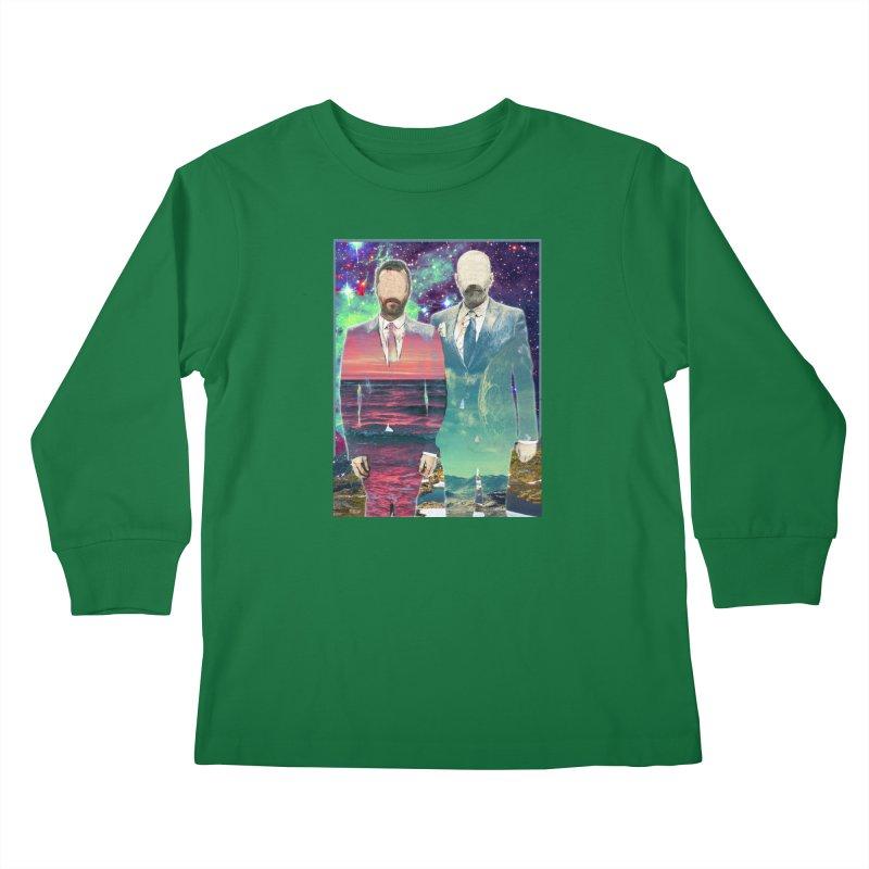 The Imperilment Department Kids Longsleeve T-Shirt by Shadeprint's Artist Shop