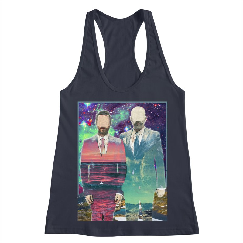 The Imperilment Department Women's Racerback Tank by Shadeprint's Artist Shop