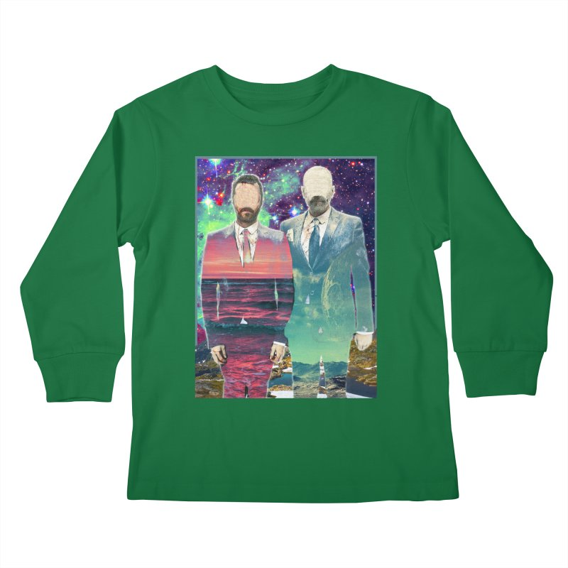 The Imperilment Department Kids Longsleeve T-Shirt by Shadeprint's Artist Shop