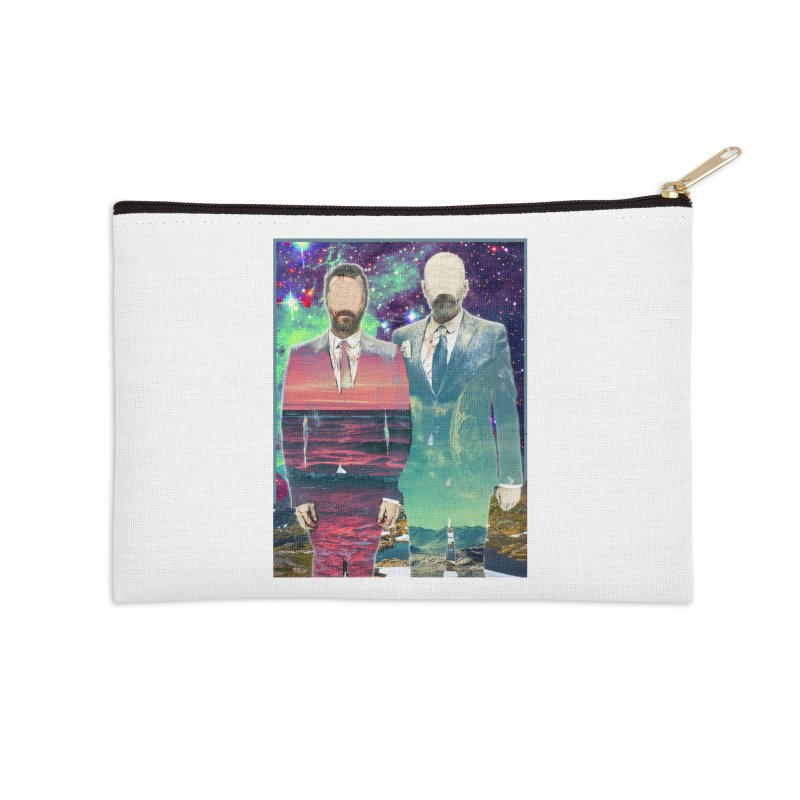 The Imperilment Department Accessories Zip Pouch by SHADEPRINT.DESIGN
