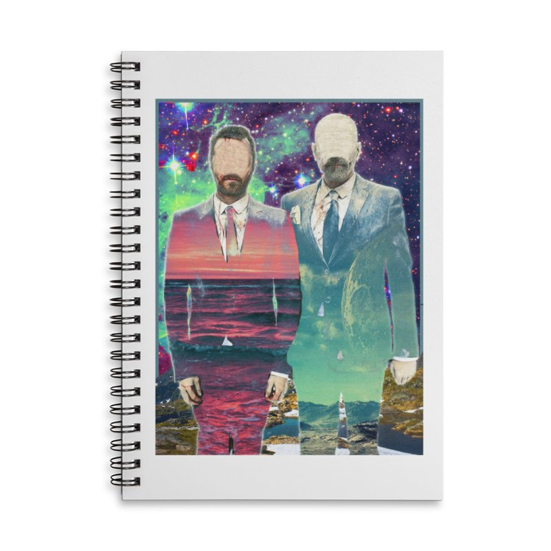 The Imperilment Department Accessories Lined Spiral Notebook by Shadeprint's Artist Shop