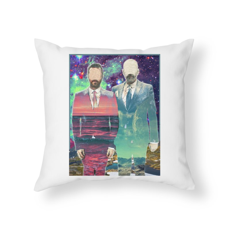 The Imperilment Department Home Throw Pillow by Shadeprint's Artist Shop