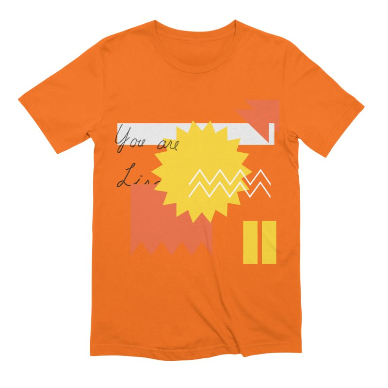 You are... Men's Extra Soft T-Shirt by Shadeprint's Artist Shop