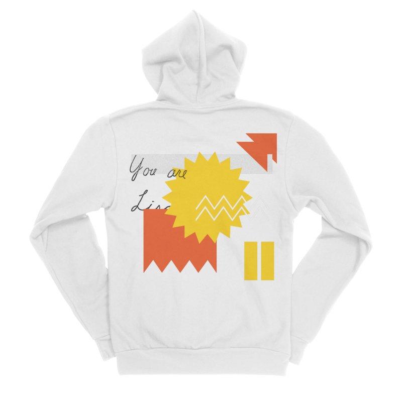 You are... Men's Sponge Fleece Zip-Up Hoody by Shadeprint's Artist Shop