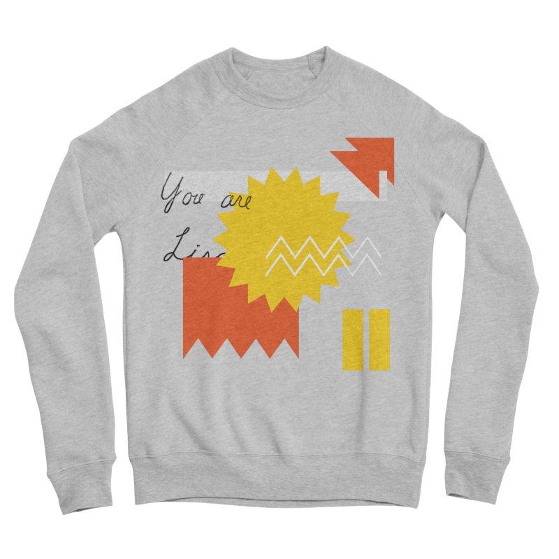 You are... Men's Sponge Fleece Sweatshirt by Shadeprint's Artist Shop
