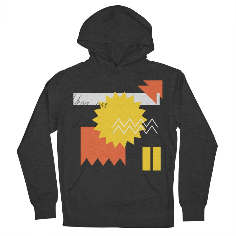 You are... Men's French Terry Pullover Hoody by Shadeprint's Artist Shop