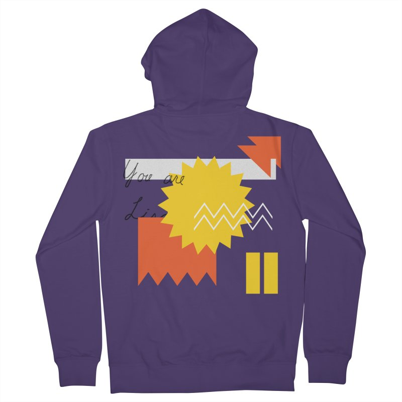 You are... Women's French Terry Zip-Up Hoody by Shadeprint's Artist Shop