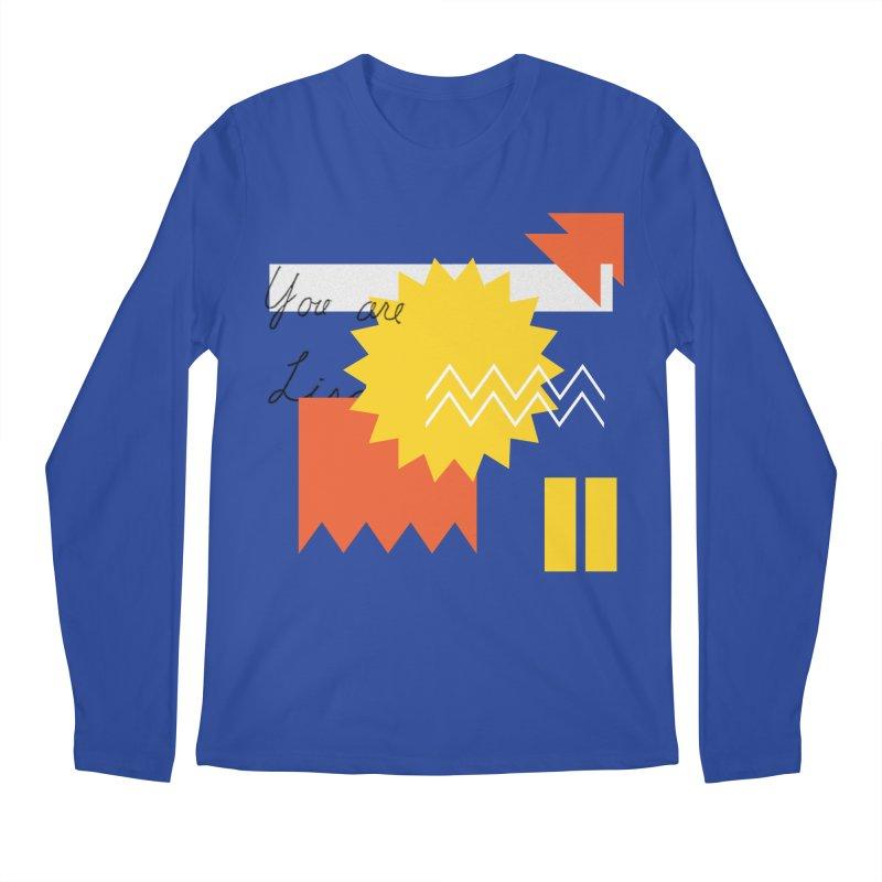 You are... Men's Regular Longsleeve T-Shirt by Shadeprint's Artist Shop