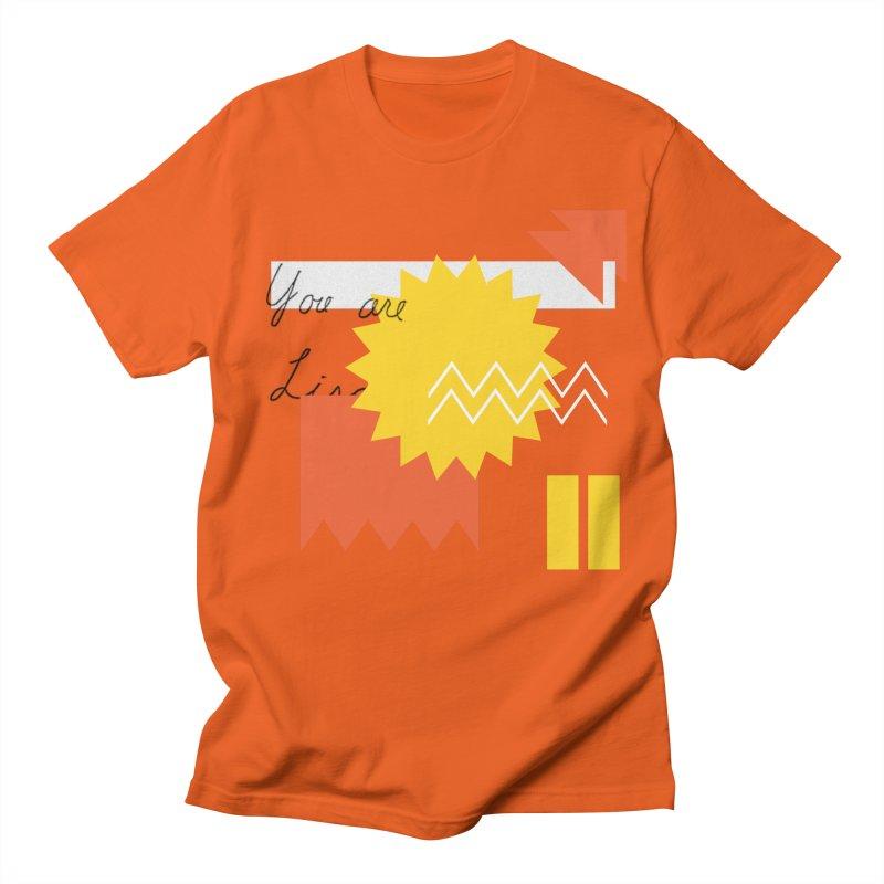 You are... Women's Regular Unisex T-Shirt by Shadeprint's Artist Shop