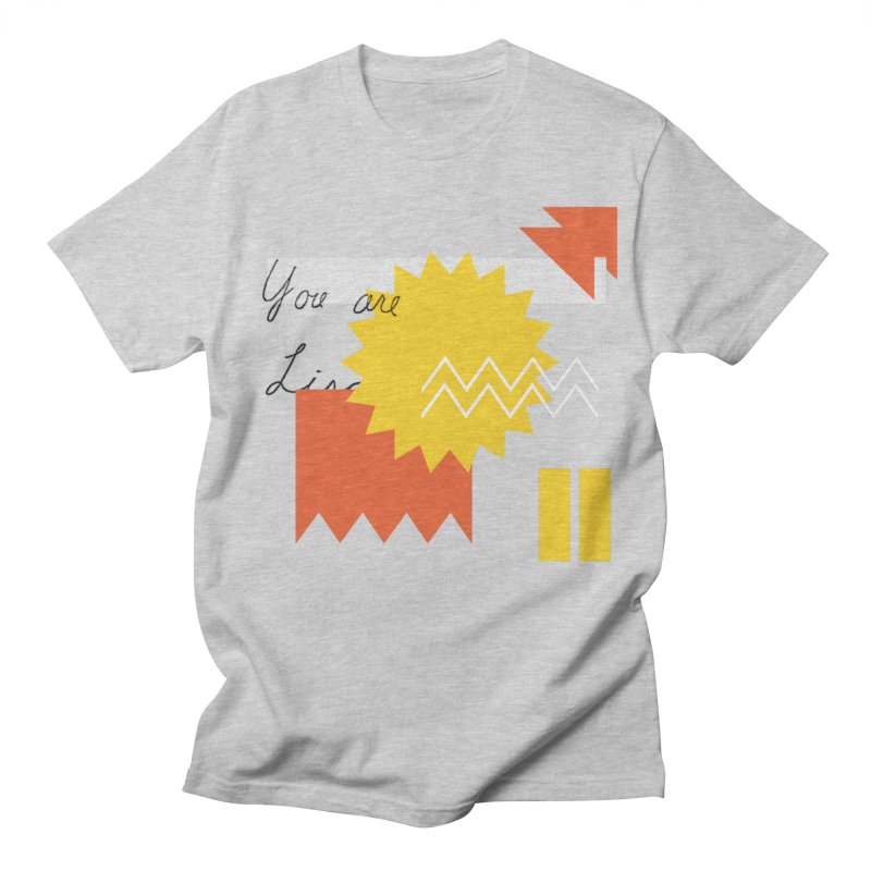 You are... Men's Regular T-Shirt by Shadeprint's Artist Shop