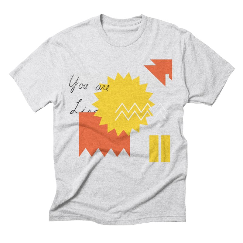 You are... Men's Triblend T-Shirt by Shadeprint's Artist Shop