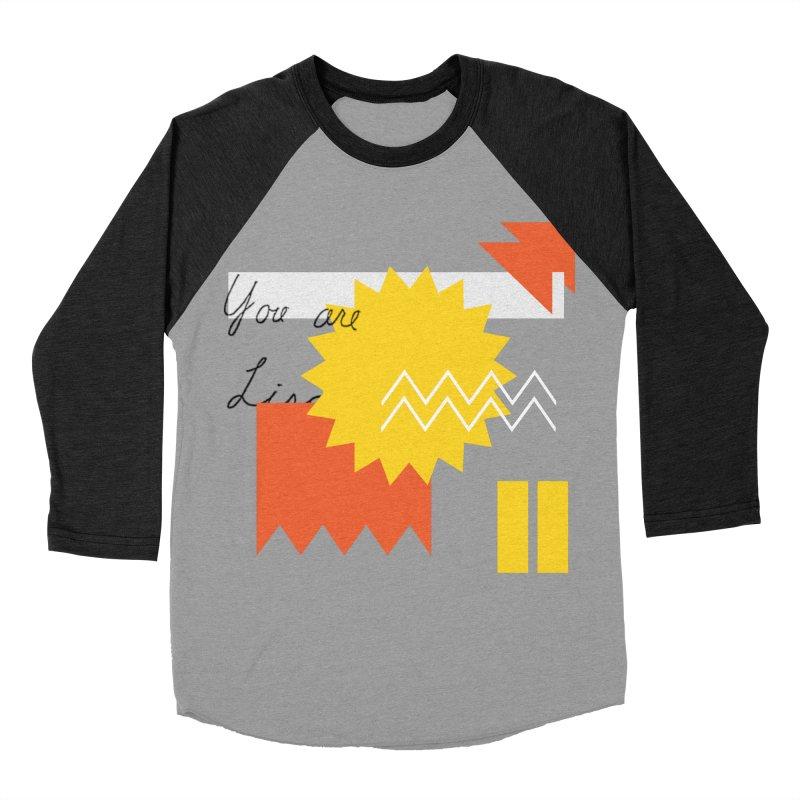 You are... Men's Baseball Triblend Longsleeve T-Shirt by Shadeprint's Artist Shop