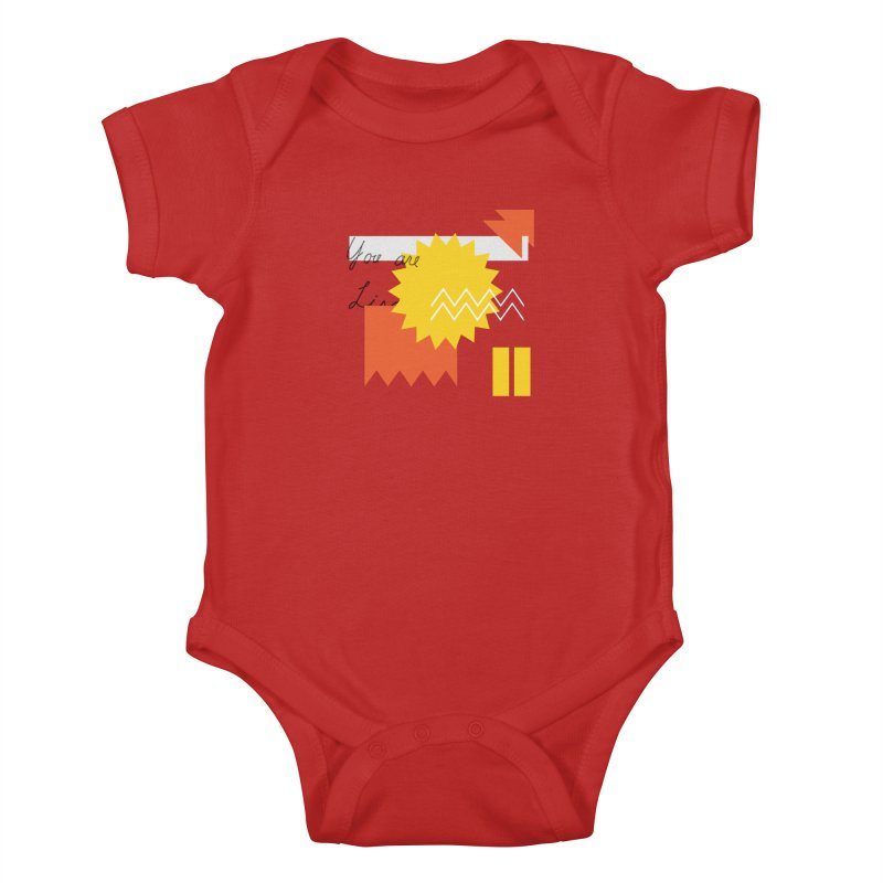 You are... Kids Baby Bodysuit by Shadeprint's Artist Shop
