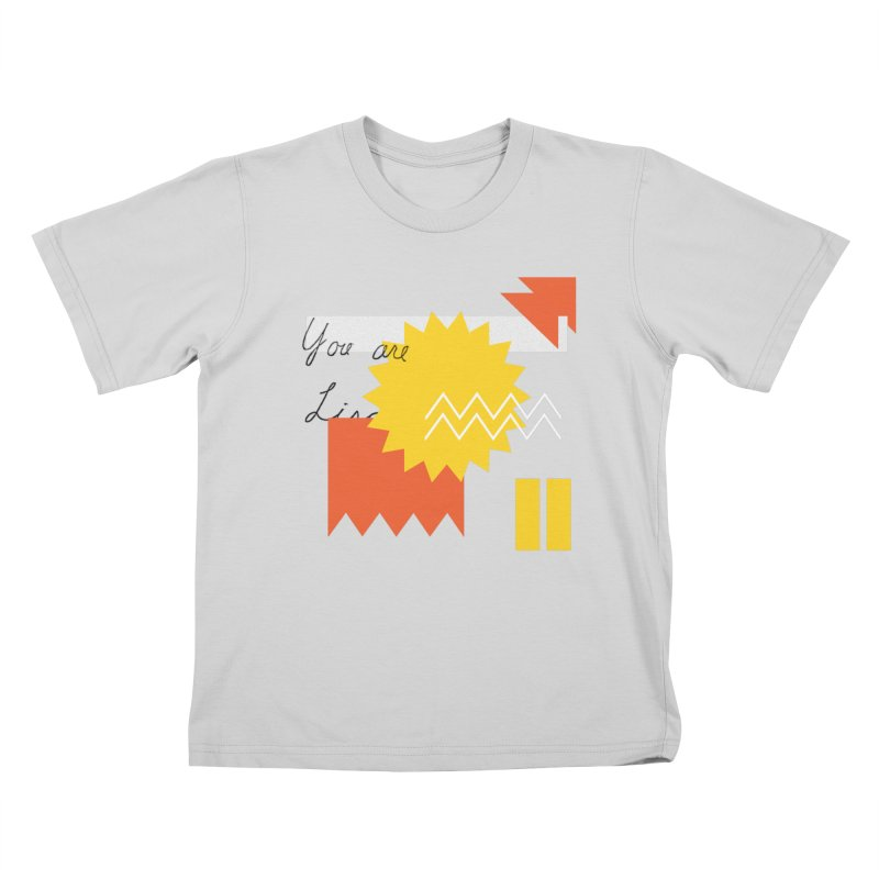 You are... Kids T-Shirt by Shadeprint's Artist Shop