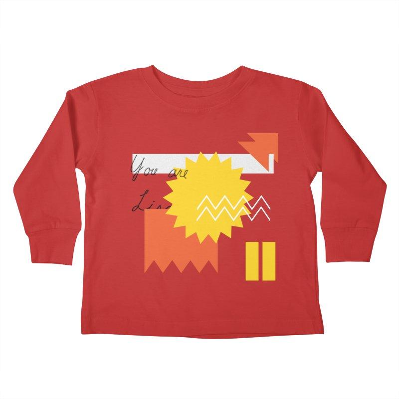 You are... Kids Toddler Longsleeve T-Shirt by Shadeprint's Artist Shop