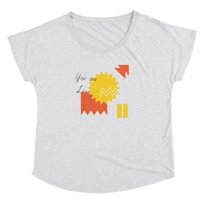 You are... Women's Scoop Neck by Shadeprint's Artist Shop