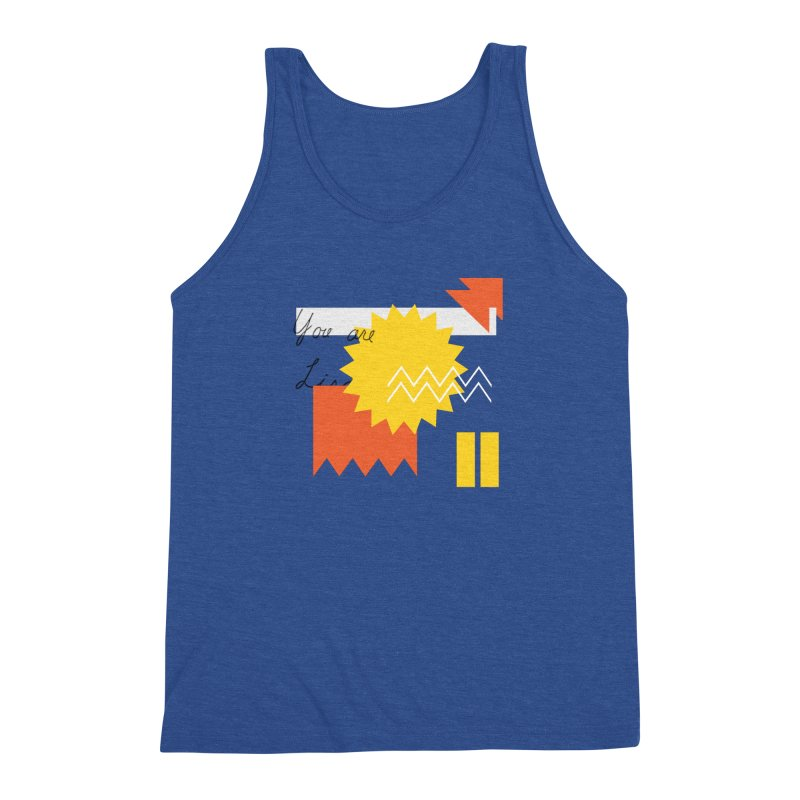You are... Men's Tank by Shadeprint's Artist Shop