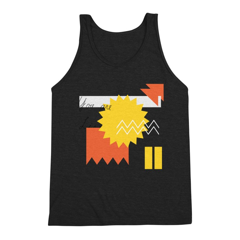 You are... Men's Triblend Tank by Shadeprint's Artist Shop
