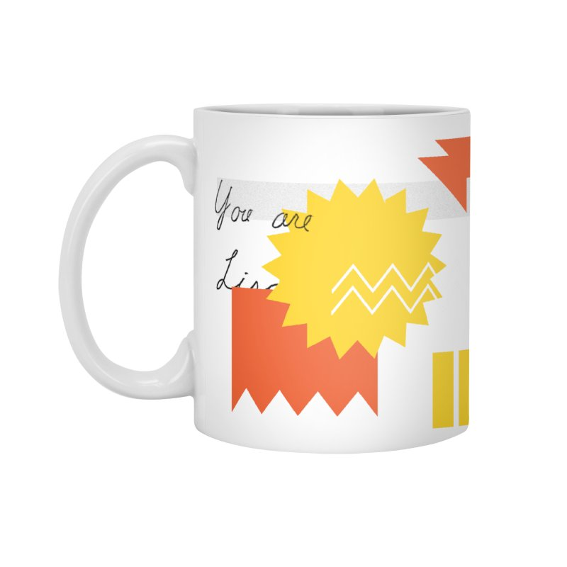 You are... Accessories Standard Mug by Shadeprint's Artist Shop