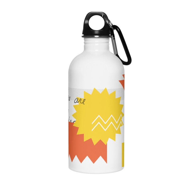 You are... Accessories Water Bottle by Shadeprint's Artist Shop