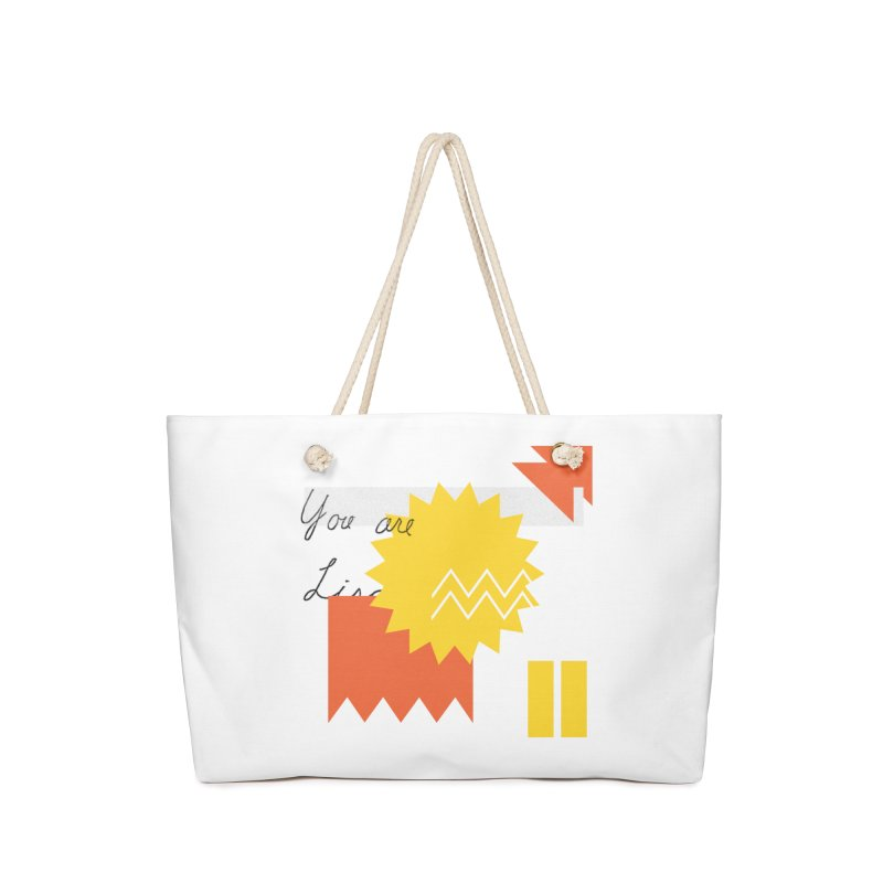 You are... Accessories Bag by SHADEPRINT.DESIGN