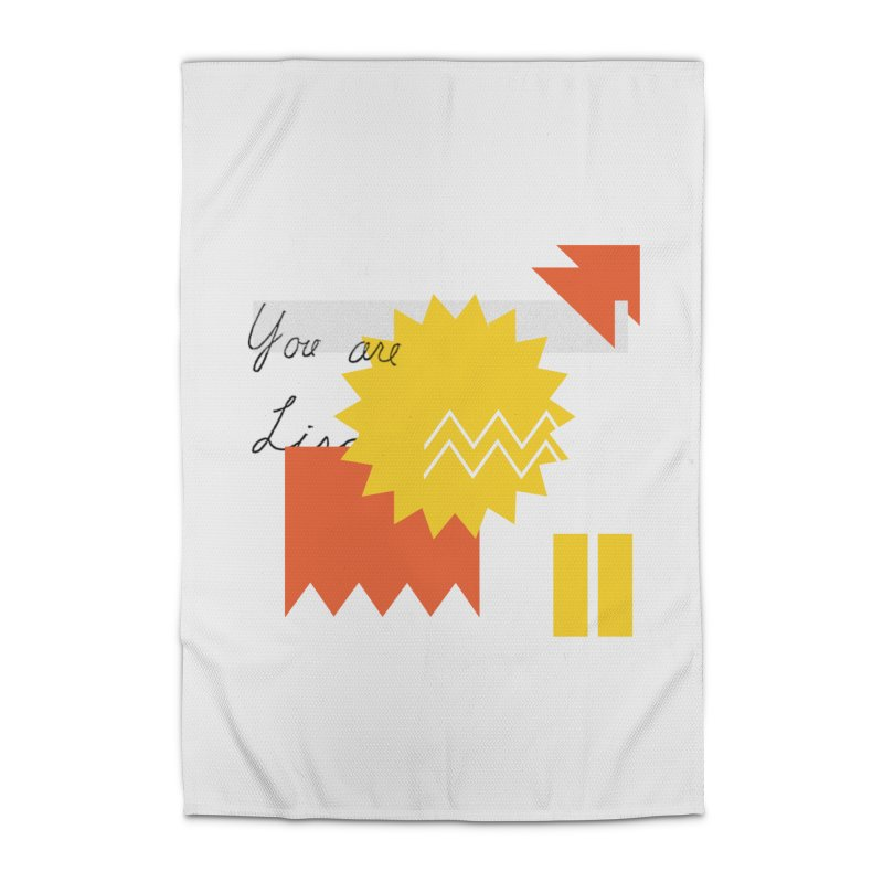 You are... Home Rug by Shadeprint's Artist Shop