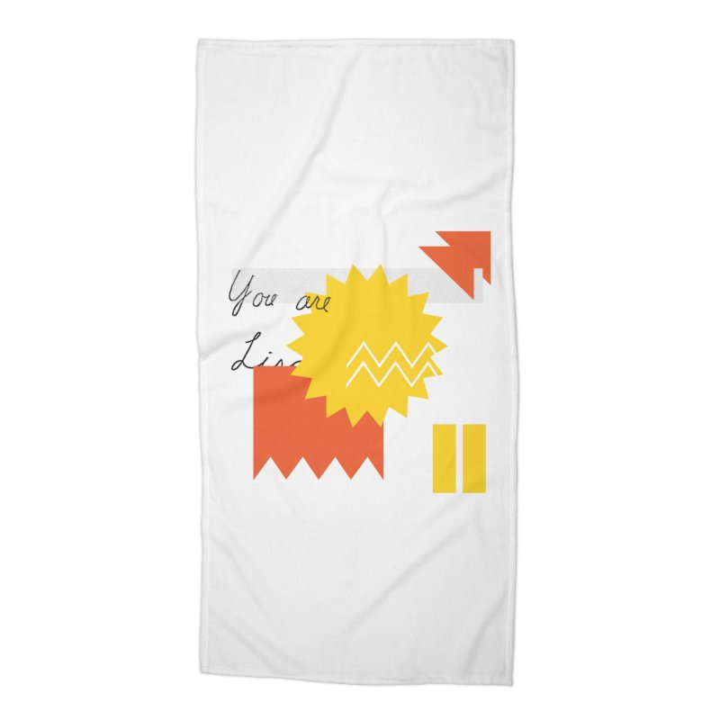 You are... Accessories Beach Towel by Shadeprint's Artist Shop
