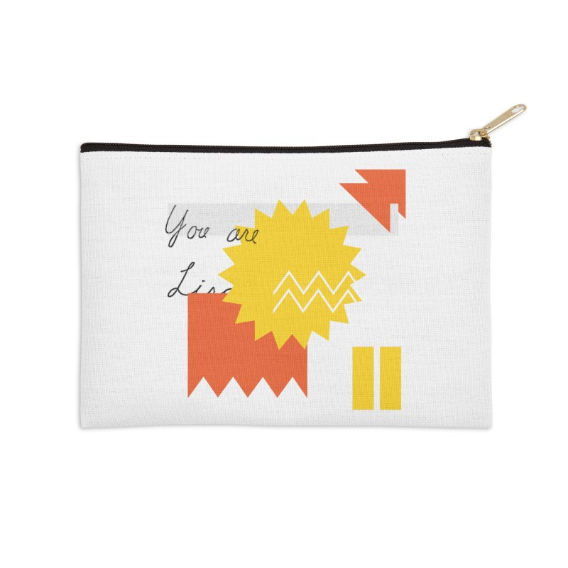 You are... Accessories Zip Pouch by Shadeprint's Artist Shop