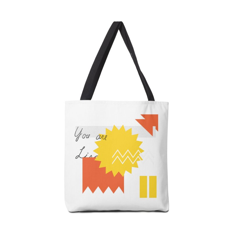 You are... Accessories Tote Bag Bag by Shadeprint's Artist Shop