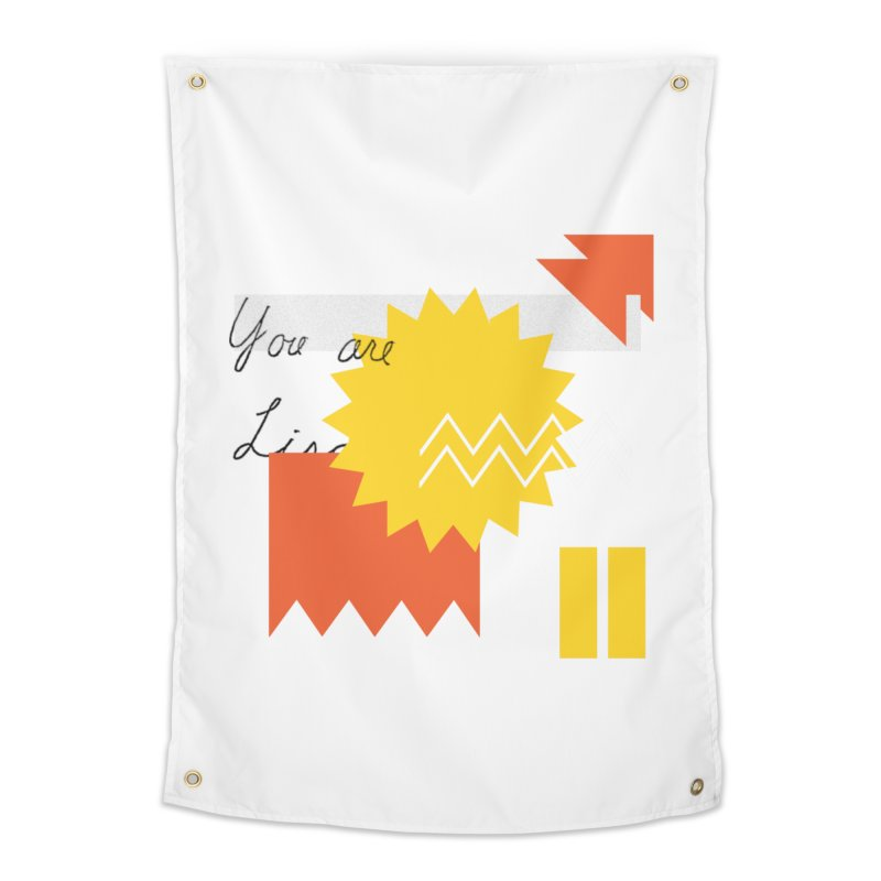 You are... Home Tapestry by Shadeprint's Artist Shop