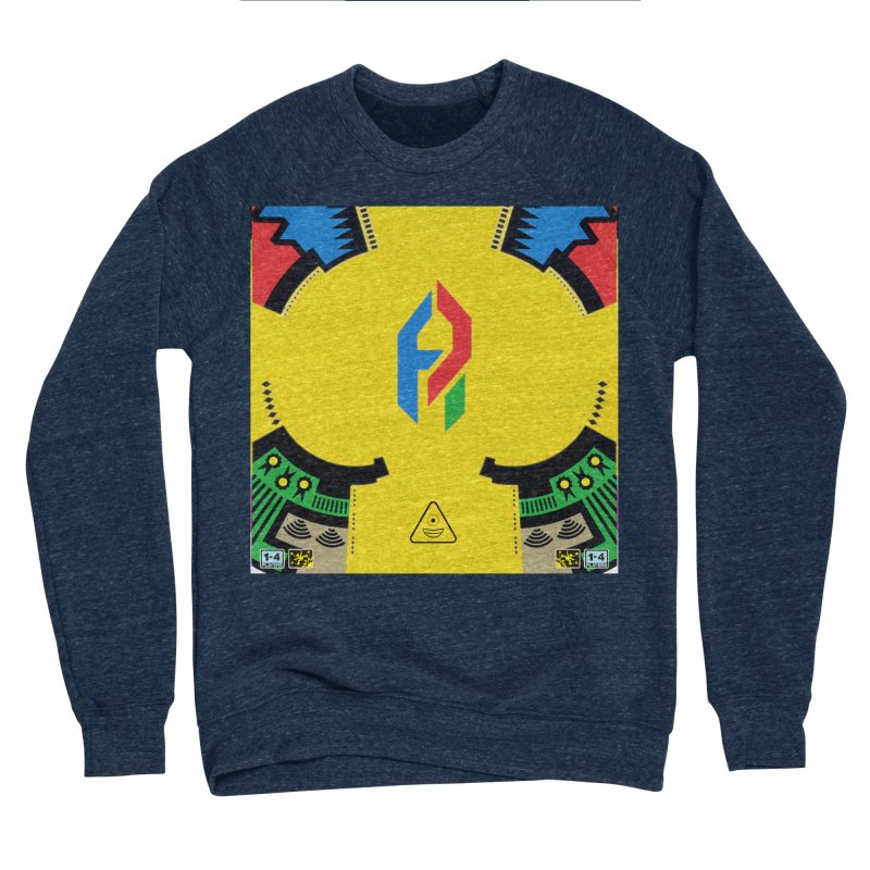 ShadeLIFE Men's Sponge Fleece Sweatshirt by Shadeprint's Artist Shop