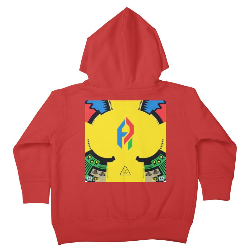 ShadeLIFE Kids Toddler Zip-Up Hoody by Shadeprint's Artist Shop