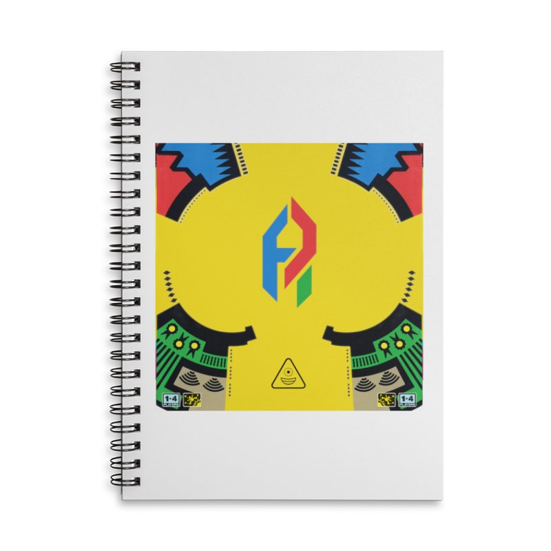 ShadeLIFE Accessories Lined Spiral Notebook by Shadeprint's Artist Shop