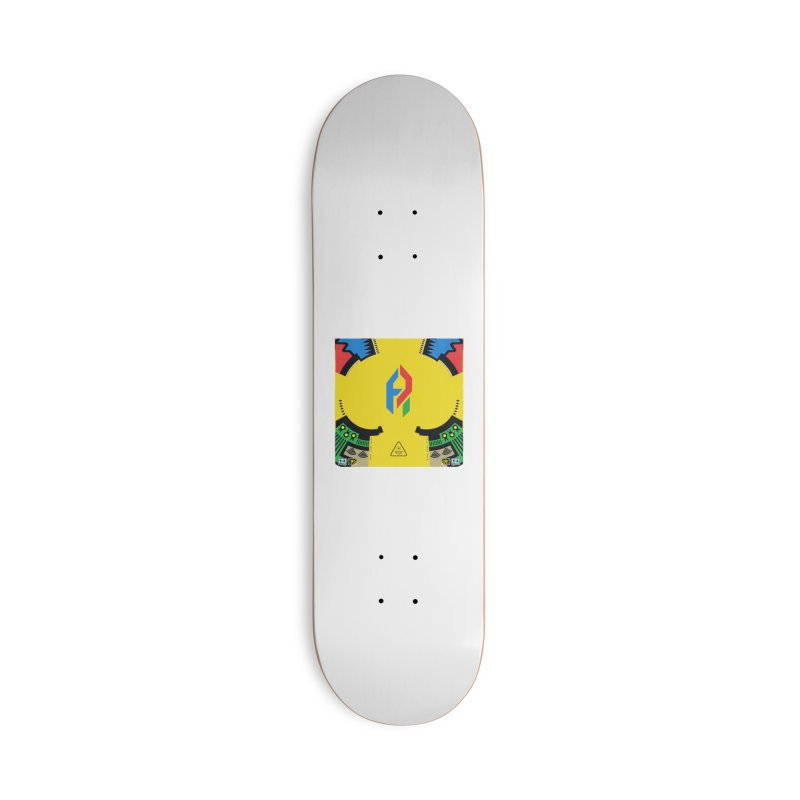 ShadeLIFE Accessories Deck Only Skateboard by Shadeprint's Artist Shop