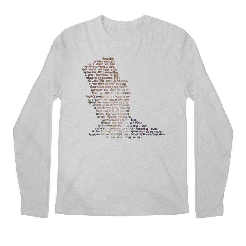Pure Imagination Men's Longsleeve T-Shirt by Shappie's Glorious Design Shop