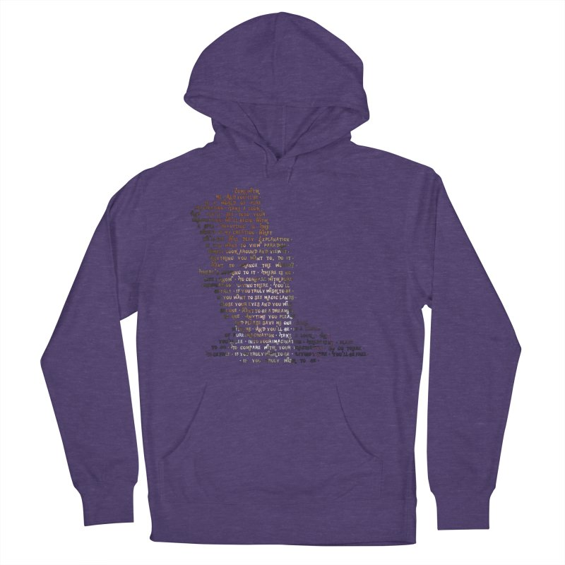 Pure Imagination Men's Pullover Hoody by Shappie's Glorious Design Shop