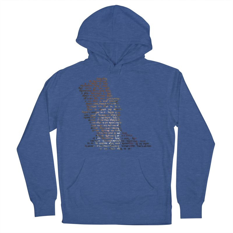 Pure Imagination Men's French Terry Pullover Hoody by Shappie's Glorious Design Shop