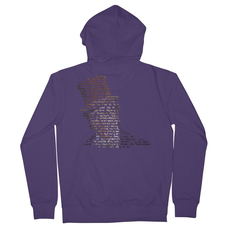 Pure Imagination Women's Zip-Up Hoody by Shappie's Glorious Design Shop
