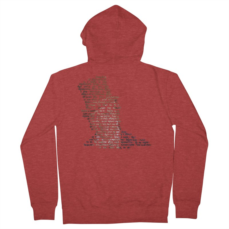 Pure Imagination Men's French Terry Zip-Up Hoody by Shappie's Glorious Design Shop
