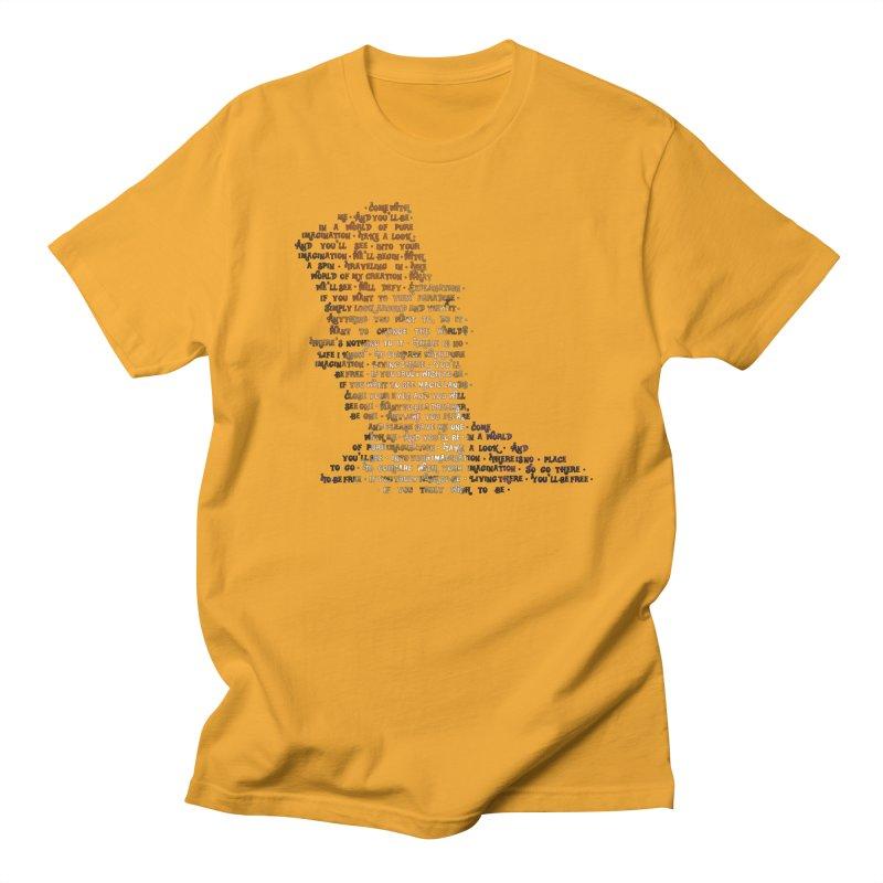 Pure Imagination Men's Regular T-Shirt by Shappie's Glorious Design Shop