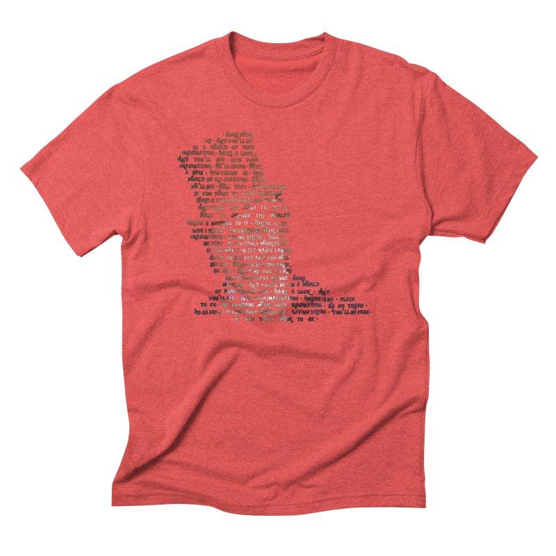 Pure Imagination Men's Triblend T-Shirt by Shappie's Glorious Design Shop