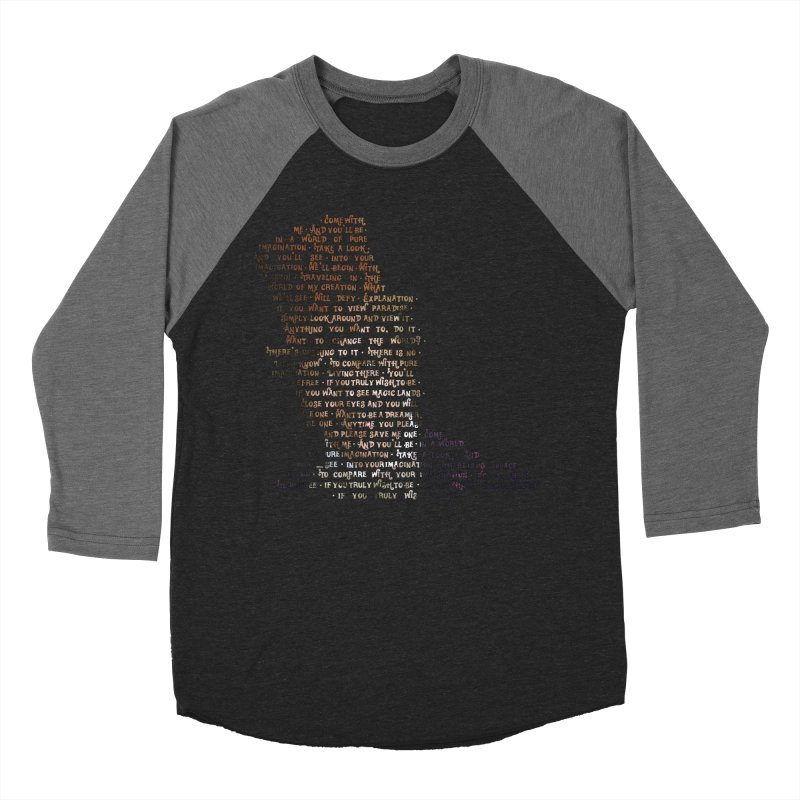 Pure Imagination Women's Baseball Triblend Longsleeve T-Shirt by Shappie's Glorious Design Shop