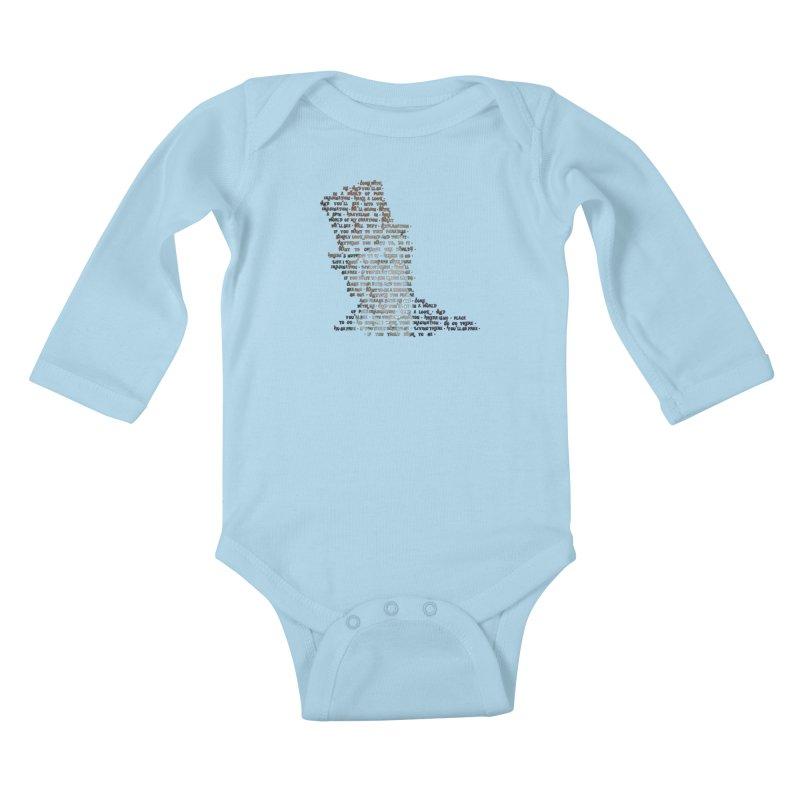 Pure Imagination Kids Baby Longsleeve Bodysuit by Shappie's Glorious Design Shop