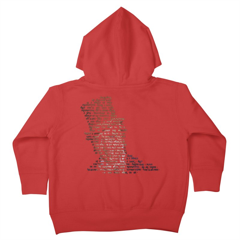 Pure Imagination Kids Toddler Zip-Up Hoody by Shappie's Glorious Design Shop
