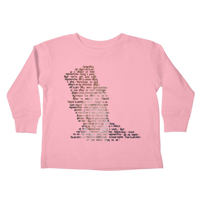 Pure Imagination Kids Toddler Longsleeve T-Shirt by Shappie's Glorious Design Shop